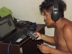 Ricardo Kiriri - um dos locutores da radio